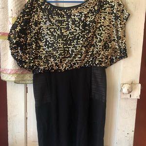Size 10 tahari sequins dress